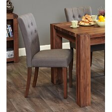Shiro Walnut Range Upholstered Dining Chair (Set of 2)