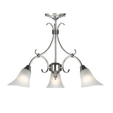 3 Light Petite Chandelier