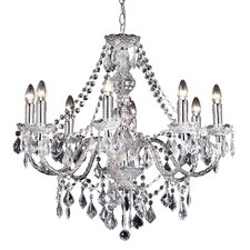 8 Light Classy Crystal Chandelier