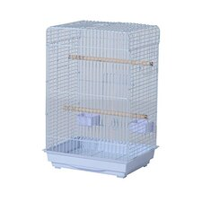 3 Door Bird Cage with Perches