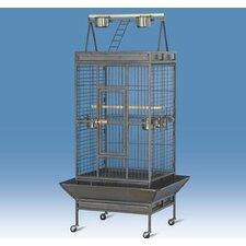 Coop Wire Mesh Bird Cage with Castors
