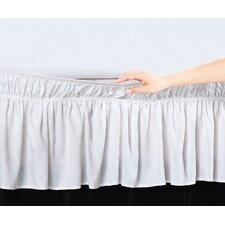 Easy Wrap Platform Free Dust Ruffle Bed Skirt