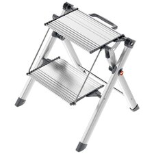 Mini Comfort 2 Step Aluminium Step Ladder
