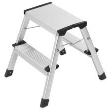 Hailo L90 1.5ft Aluminium Step Ladder
