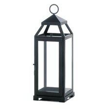 La Lean and Sleek Iron and Glass Lantern