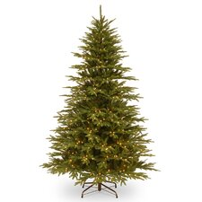 Monterey 7.7' Green Fir Artificial Christmas Tree with 800 Clear Lights