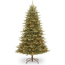 Asbury 7.5' Blue Spruce Artificial Christmas Tree with 550 Clear Lights