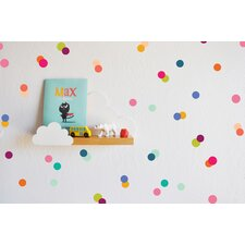 Rainbow Tiny Dots Wall Decal