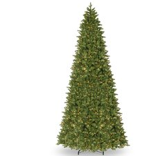 14' Green Spruce Artificial Christmas Tree with 1300 Clear Lights