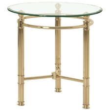 Madras Round Side Table