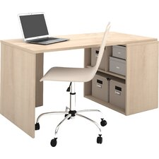 Luther Storage Unit Computer Desk