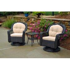 Gleeson 3 Piece Seating Group with Cushion