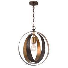 Mason 1-Light Globe Pendant