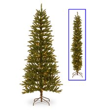 Kensington 6.5' Green Artificial Christmas Tree with 250 Clear Lights
