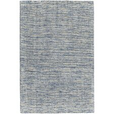 Oasis Hand-Woven Blue Area Rug