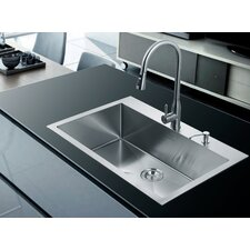 33 x 22 single drop in kitchen sink - Kitchen Single Sink