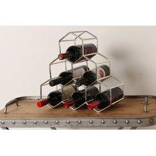 Merl 6 Bottle Tabletop Wine Bottle Rack