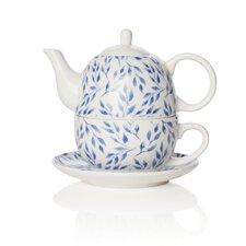Beatrice 3 Piece Bone China Teapot Set