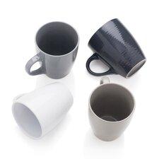 4-tlg. 4-tlg. Kaffeebecher-Set Texture Value