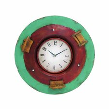 "Metal 21"" Wall Clock"