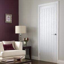 5 Panel White Internal Door