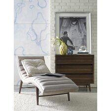 Cushendall Leather Chaise Lounge