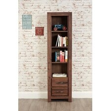 Mayan Walnut 180cm Bookcase