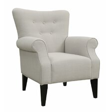 Delia Button Back Armchair