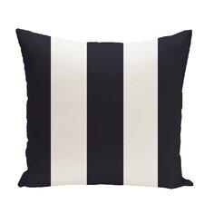 Caymen Stripe Print Throw Pillow
