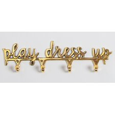 Play Dress Up Wall Mounted Jewelry Holder