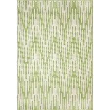 Wexler Hand-Woven Green Indoor/Outdoor Area Rug
