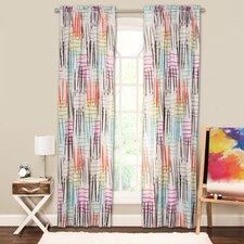 Crayola Stroke of Genius Single Curtain Panel