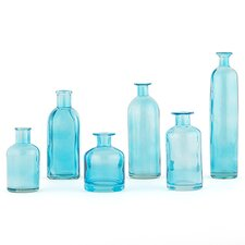 Decorating Glass 6 Piece Bottle Set
