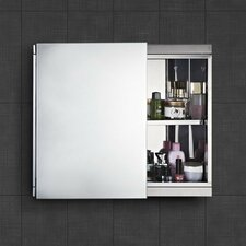 60cm x 55cm Surface Mount Mirror Cabinet