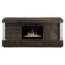 """Camilla 72"""" TV Stand with Electric Fireplace"""