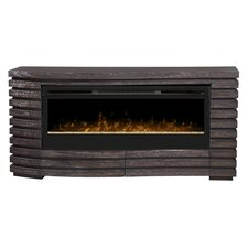 """Elliot 70"""" TV Stand with Electric Fireplace"""