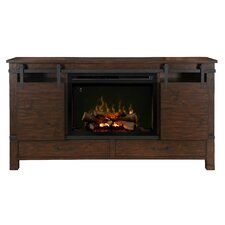 """Austin 76.5"""" TV Stand with Electric Fireplace"""