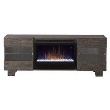 "Max 62"" TV Stand with Electric Fireplace"