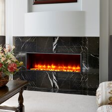 "44"" Built-in LED Wall Mount Electric Fireplace Insert"