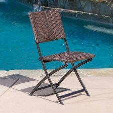 Kapteyn Outdoor Folding Chair (Set of 4)