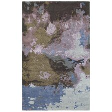 Wora Hand-Crafted Blue/Purple Area Rug
