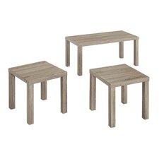 Sunbury 3 Piece Coffee Table Set
