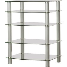 Batista Multi-Level Component Stand with Shelves
