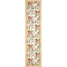 Lowery Botanical Garden Ivory Area Rug