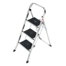 K30 3-Step Aluminium Step Stool with 159kg Load Capacity