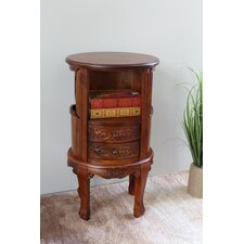 Windsor Hand Carved Wood Telephone Stand