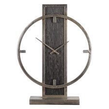 Modern Analog Wood Desk Clock