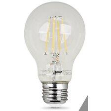 7W E27/Medium LED Light Bulb Pack of 2