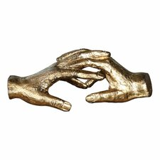 Hold My Hand Metal Sculpture