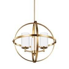 Morningside Drive 3-Light Uni-sphere Globe Pendant